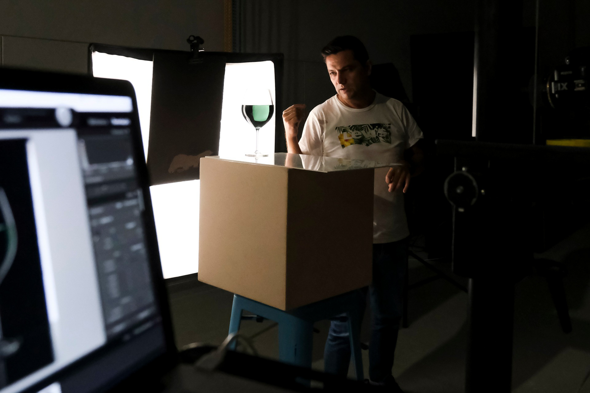 workshop de fotografia de estúdio